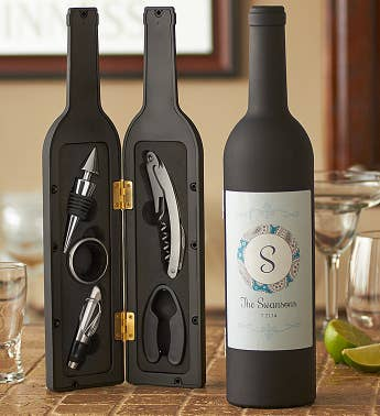 Personalized On-the-Go Wine Tool Kit