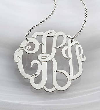 Personalized Monogram Necklace