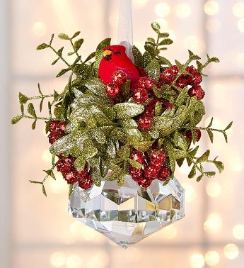 Holiday Kissing Krystals Mistletoe