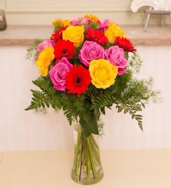 Summer Rainbow Bouquet