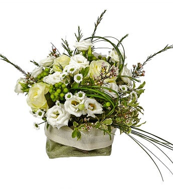 Centerpiece of White Flowers