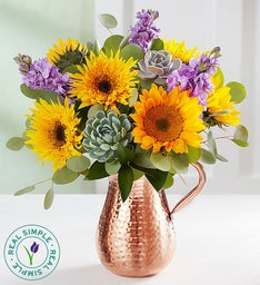 Coastal Spring Sunflowers by Real Simple®