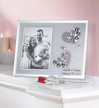 Personalized Love Frame and Keepsake Rose