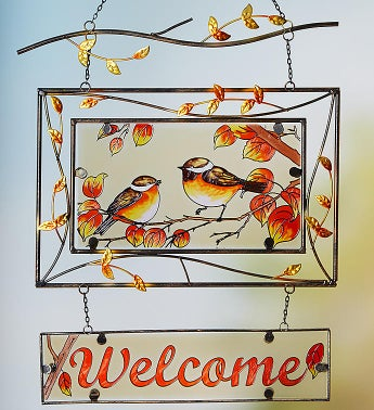 Welcome Autumn Suncatcher