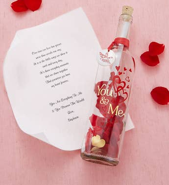 Personalized Message in a Bottle for Love