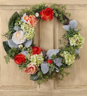 Keepsake Luna Rose Garden Wreath  24