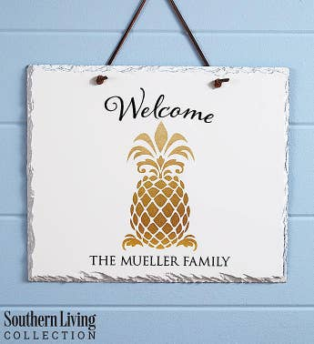 Personalized Southern Living Welcome Sign