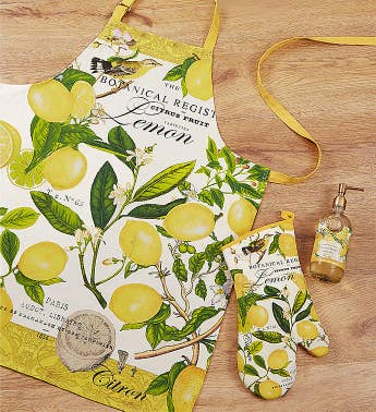 Michel Design Works Lemon Basil Kitchen Bundle