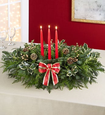 Grand Holiday Centerpiece
