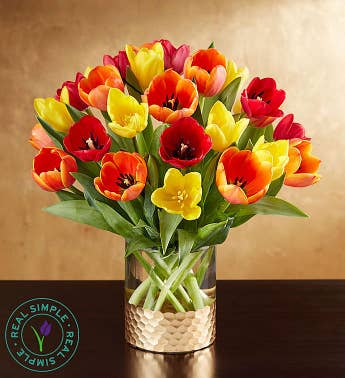 Autumn Tulips by Real Simple