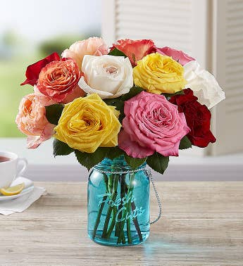 Fragrant Blooms Garden Roses