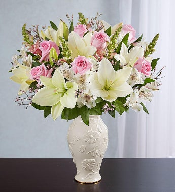 Loving Blooms™ Lenox® Pink & White