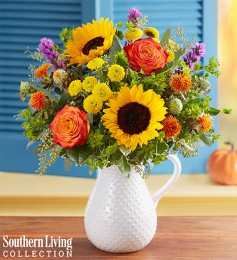 Fall Farmhouse Pitcher by Southern Living