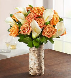 Autumn Rose & Calla Lily Bouquet