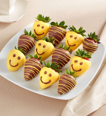 Strawberry Smiles Dipped Strawberries 8211 12 Count