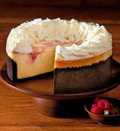 The Cheesecake Factory® White Chocolate Raspberry Truffle® Cheesecake - 7""