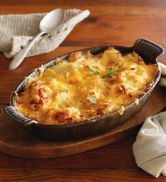 Three-Cheese Scalloped Potatoes