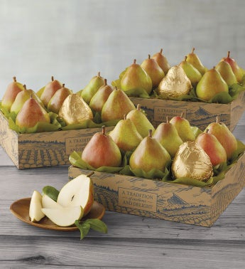 Three Boxes of The Favorite174 Royal Riviera174 Pears