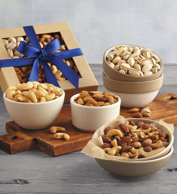 Festive Mixed Nut Gift Box