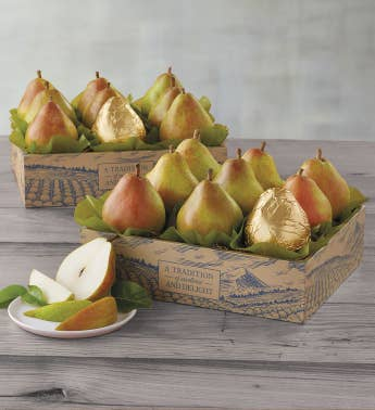 Two Boxes of The Favorite174 Royal Riviera174 Pears