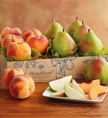 Royal Verano Pears and Oregold174 Peaches