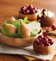 Royal Verano Pears and Cherry-Oh!® Cherries