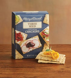 Three Seed Hors D'oeuvre Crackers