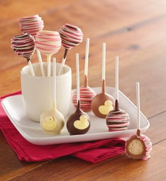 It's-a-Girl Cake Pops
