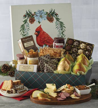 Holiday Cardinal Gift Box