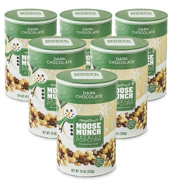 Moose Munch174 Dark Chocolate Premium Popcorn 8211 10 oz 6 Pack