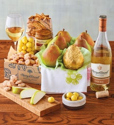 Spring Gift Box Deluxe with Wine