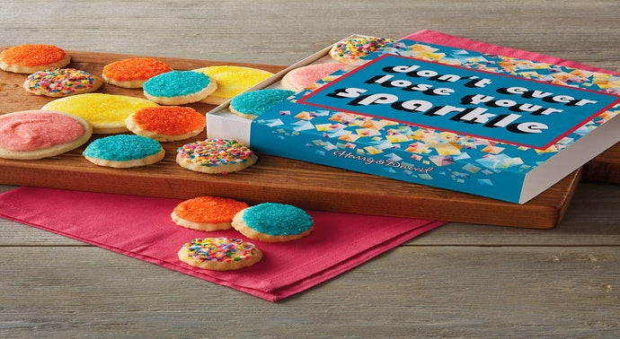 34Don39t Ever Lose Your Sparkle34 Cookie Gift Box