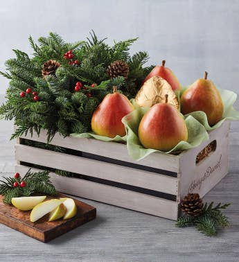 Royal Riviera174 Pears and Holiday Centerpiece