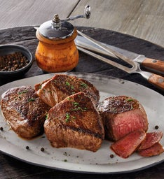 Bourbon-Peppercorn Marinated Steaks, Four-Pack