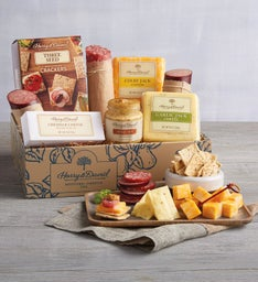 Gourmet Meat and Cheese Box