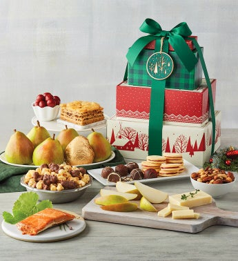 Tower of Treats174 Deluxe Holiday Gift