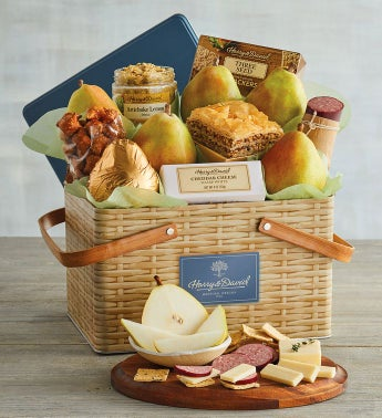 Picnic Basket Gift Tin