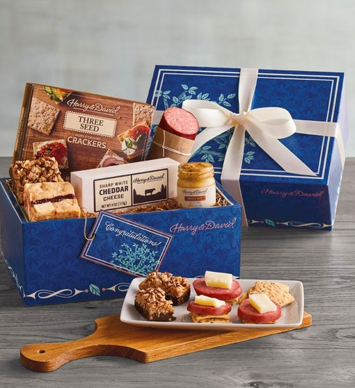 Congratulations Celebration Gift Box