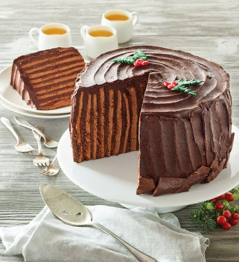Chocolate Mocha Yule Log