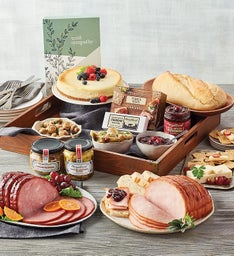 Sympathy Ham and Turkey Buffet Gift