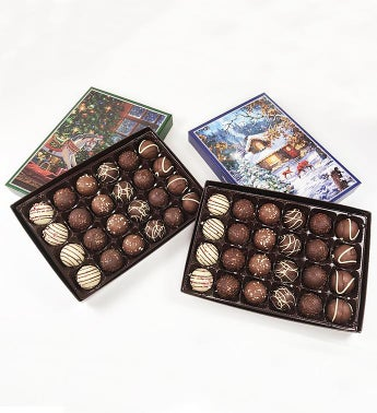 Holiday Truffle Assortment Duo