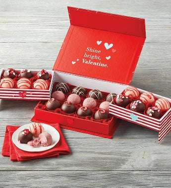 Valentine39s Day Truffles in Keepsake Box