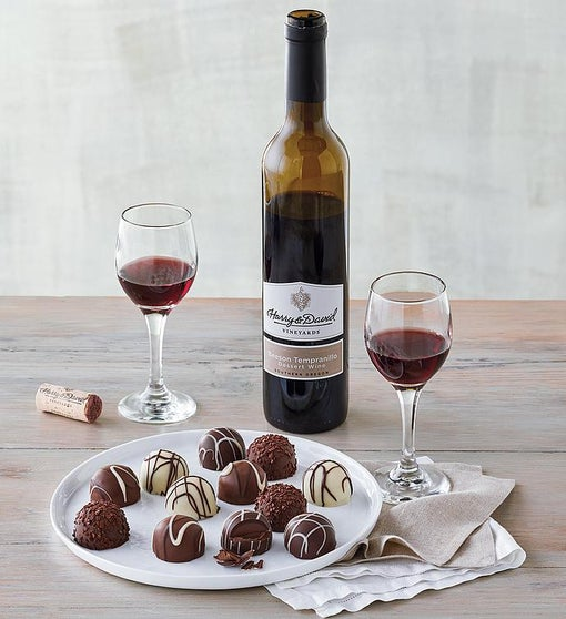 Truffles and Dessert Wine Gift