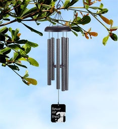 Forever our Dog Memorial Wind Chime