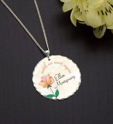 Until We Meet Again Memorial Necklace