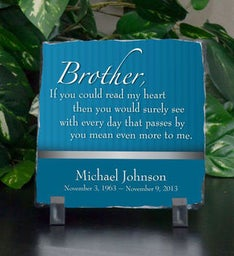 Brother Means More Small Plaque