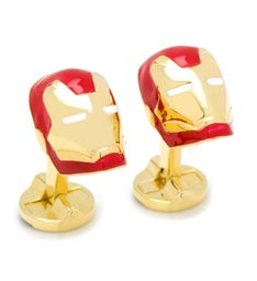 3D Iron Man Cufflinks