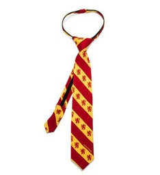 Gryffindor Stripe Boys Zipper Tie