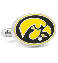 Iowa Hawkeyes Cufflinks