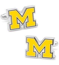 University of Michigan Wolverines Cufflinks